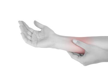Forearm muslce strain.