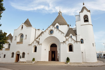 Chiesa a trullo ad Alberobello, Puglia