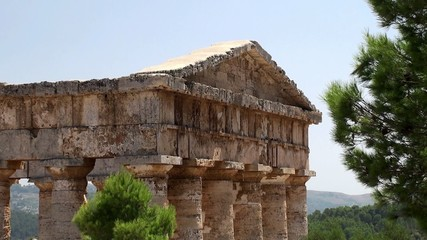 Doric temple of Segesta. Sicily