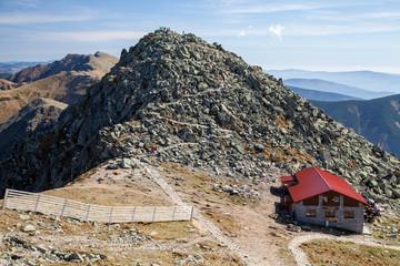 Top of the hill Chopok, Slovakia