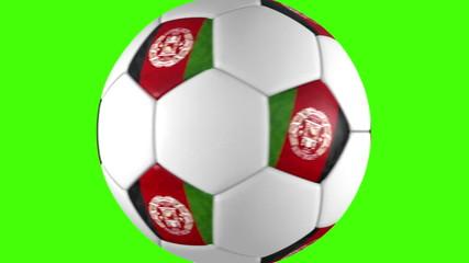Afghanistan soccer balls transition