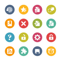 Web Icons -- Fresh Colors Series