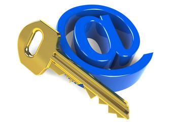 Email Schlüssel