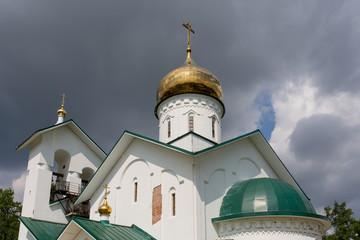 Church of St. Alexander Nevsky. Ashukino village.