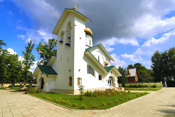 Church of St. Alexander Nevsky. Ashukino village.
