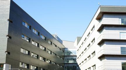 Edificios del hospital de la Sante Creu i Sant Pau, Barcelona