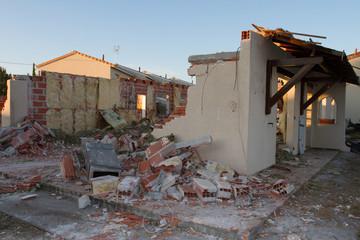 Démolition destruction de maison