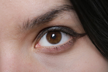 Woman Brown Eye