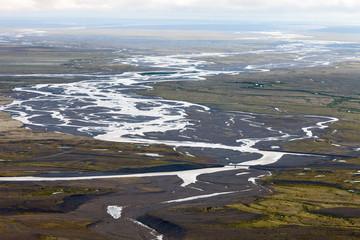 Sandur (glacial flood plain), South Iceland