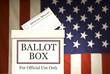 Ballot Box Horizontal - 70961706