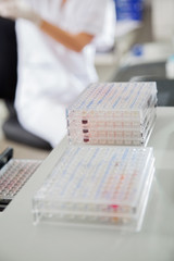 Microplates In Medical Laboratory