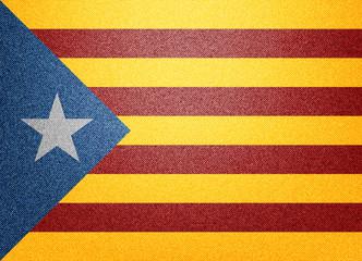 Estelada blava Catalonia flag