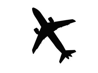 avião preto