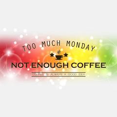 Monday background