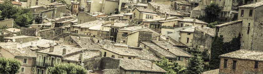 medieval village in France