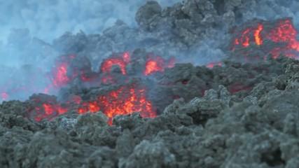 detail lava flow