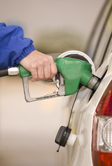 Pumping Precious Petrol (Vertical)