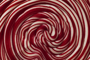 Red Swirly lollipop background