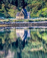 The church at Ballachulish, Glencoe
