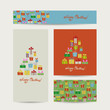 Christmas cards collection for your design
