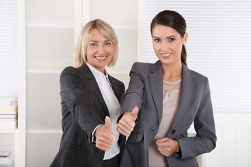 Portrait: Team erfolgreiche Frauen im Beruf