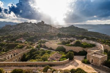 Sardegna,Palau, Capo d'Orso al tramonto
