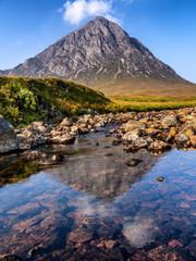 Buachaille Etive Mor reflections