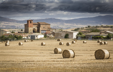 Landscape from Cameno Village - Burgos, Spain