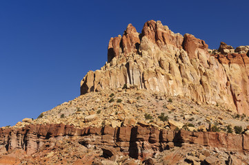 Red Rock Escarpment in the Southwest