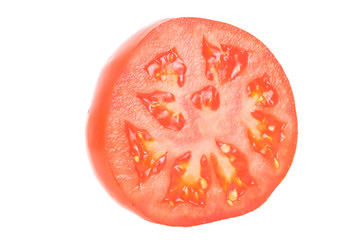Tomate halbiert 2