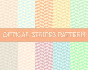 Optical Stripes Patterns