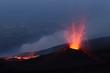 Leinwanddruck Bild - Volcano eruption