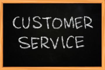 Customer Service Writing on Blackboard