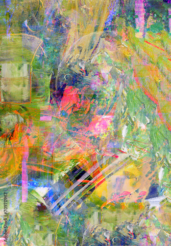 Obraz Abstract on Canvas