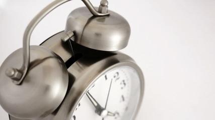 Vintage Alarm Clock High Angle