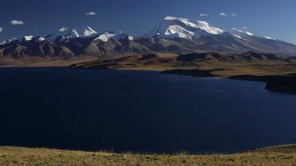 panorama on Mt Gurla Mandhata
