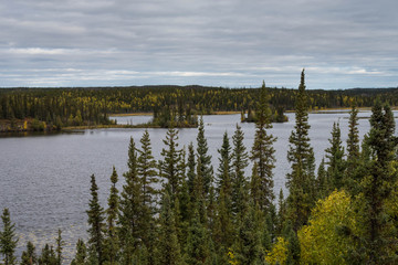 Wild Landscape of the Northwest Territories