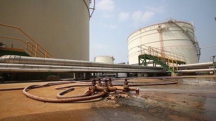 Video panning in Tank farm in industrial palnt