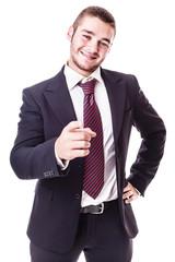 I want you businessman