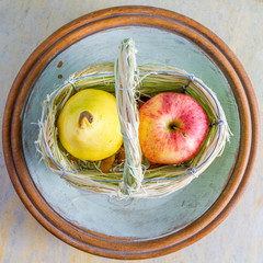 Apfel, Birne