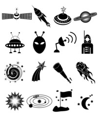 Space Icons Set