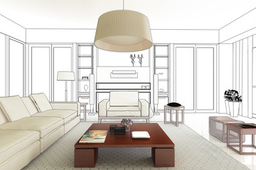 Innenraum Konzept (Entwurf)