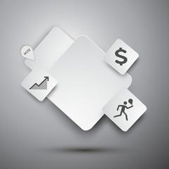 Text box design vector