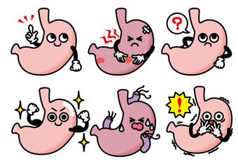 胃のキャラクターセット