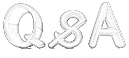 """3d text """"Q&S"""". Pencil drawing"""