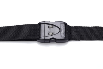 plastic buckle on strap combination lock