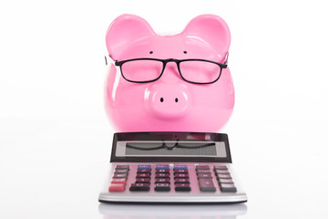 Accounting and savings concept