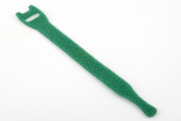 Velcro cable tie in green