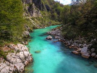 Soča, the emerald river