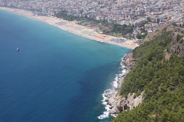 Turkey. Alanya Castle. Viewing point. Cleopatra\\